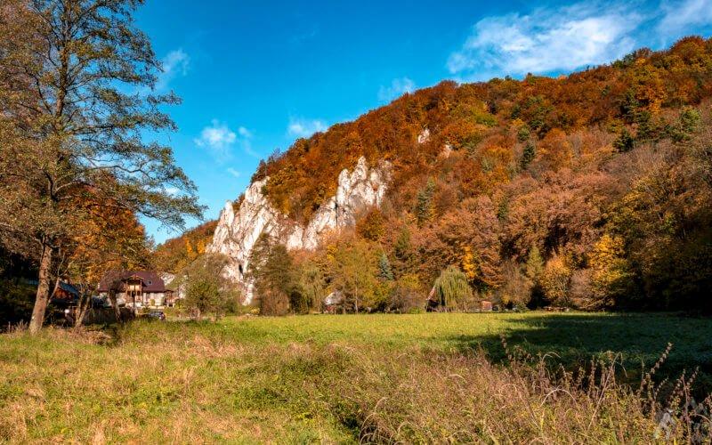 Dolina Prądnika - Ojcowski Park Narodowy jesienią :)