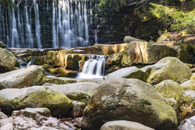 Dziki wodospad w Karpaczu, może nie do końca dziki ale z pewnością malowniczy ;)