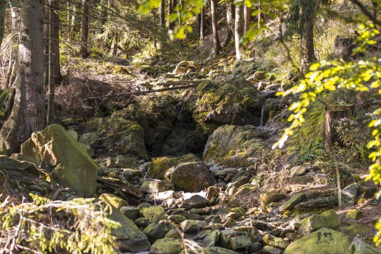 Szlaki turystyczne w Karpaczu - Sowia Dolina