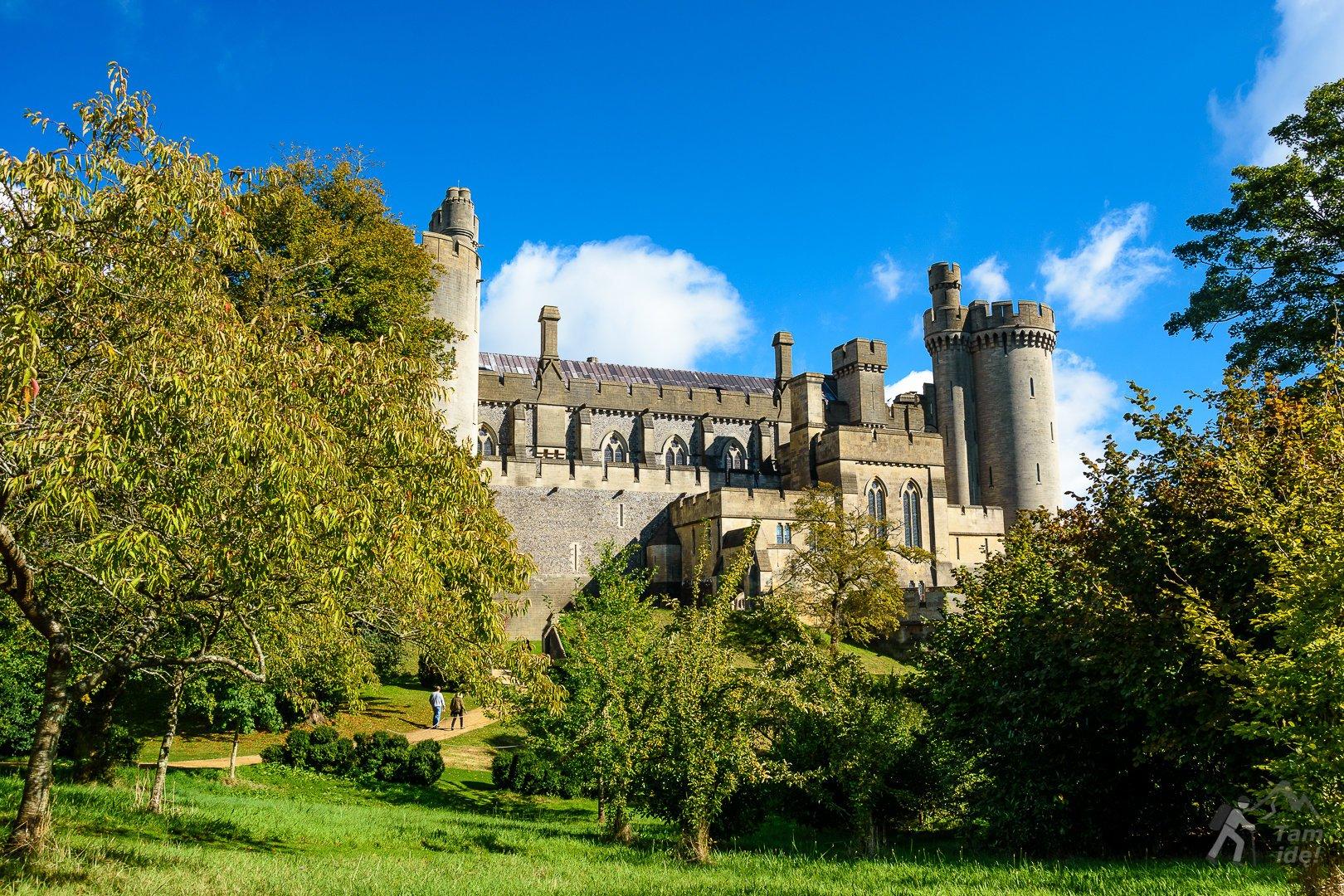 Zamek Arundel robi ogromne wrażenie :)