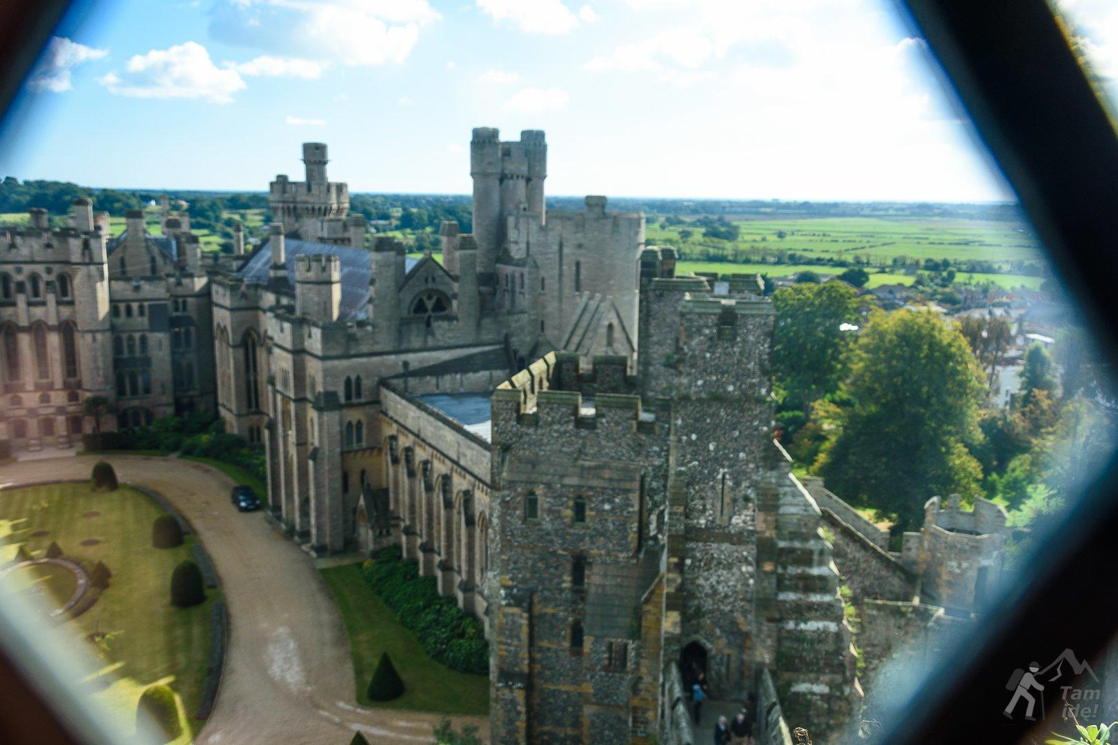 Dziedziniec zamku Arundel