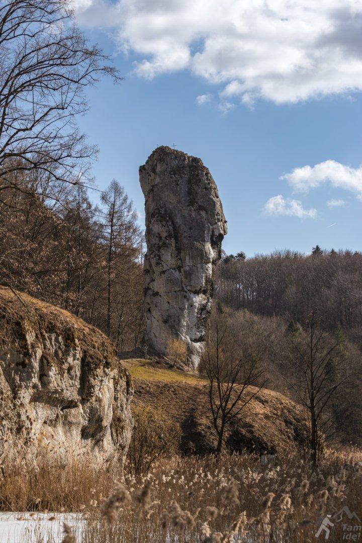 Maczuga Herkulesa - Zamek Pieskowa Skała