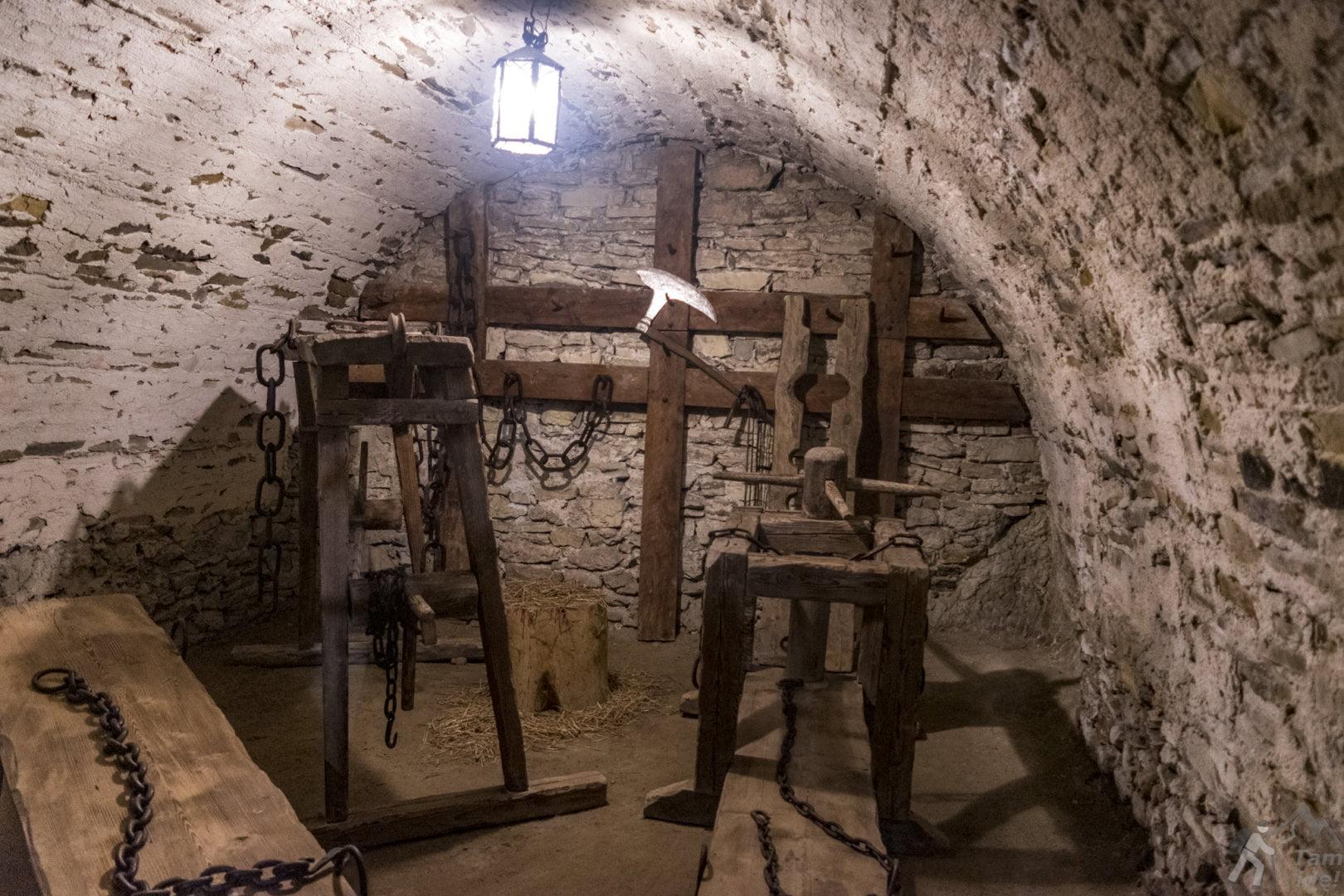 Zamek Niedzica kolekcja narzędzi tortur ;)