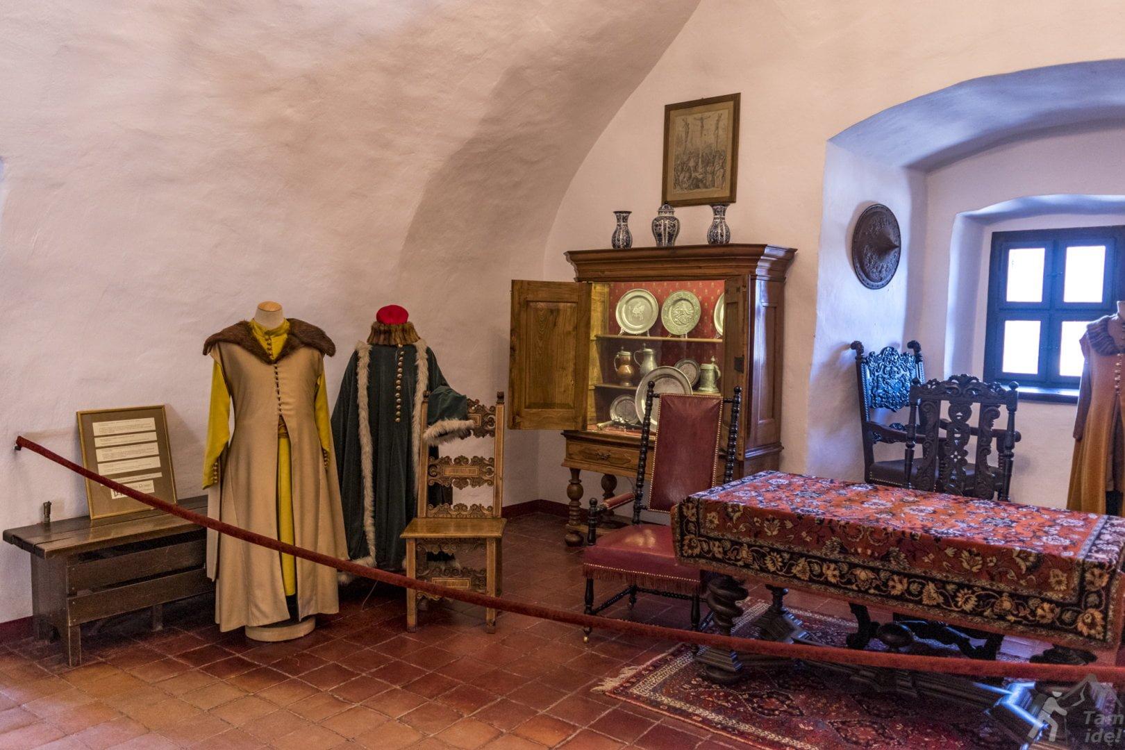 Zamek Niedzica eksponaty