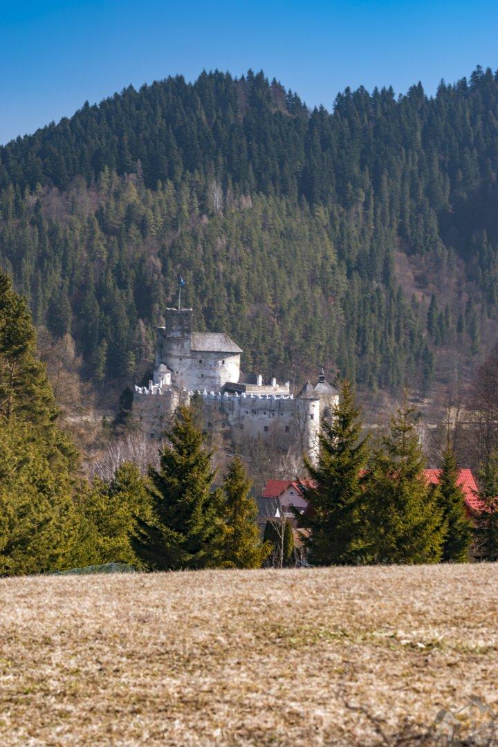 Wieżę zamku w Niedzicy