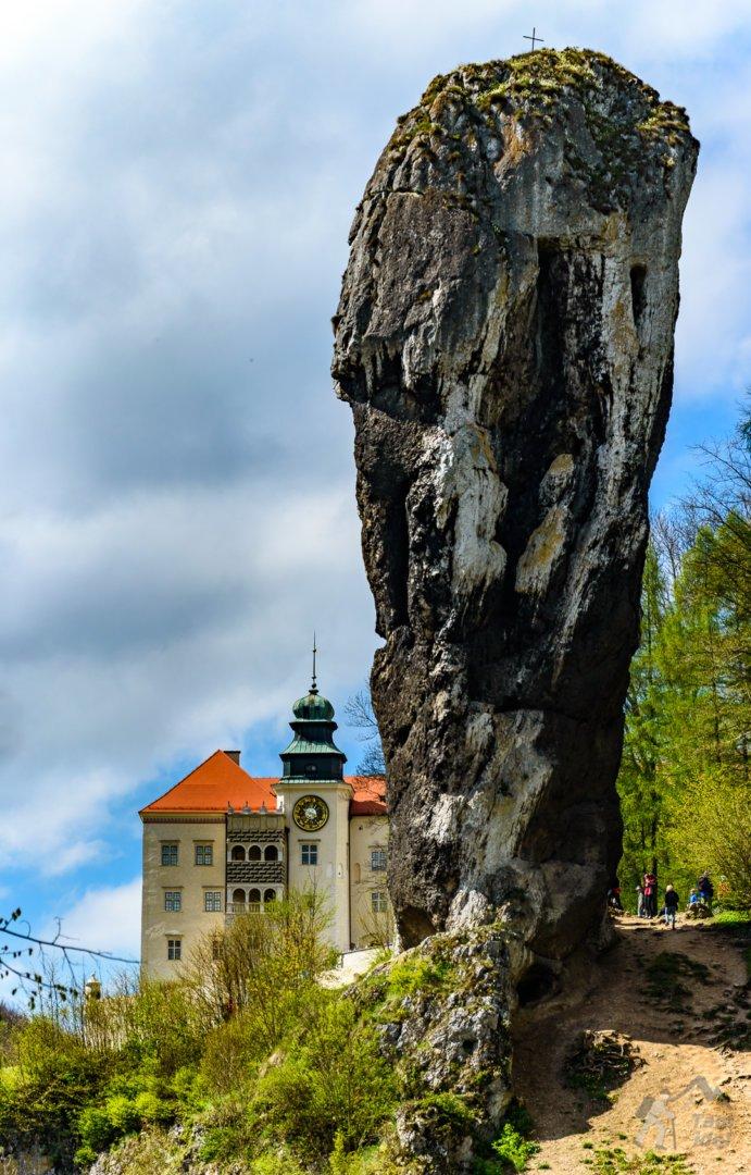 Maczuga Herkulesa i Zamek Pieskowa Skała