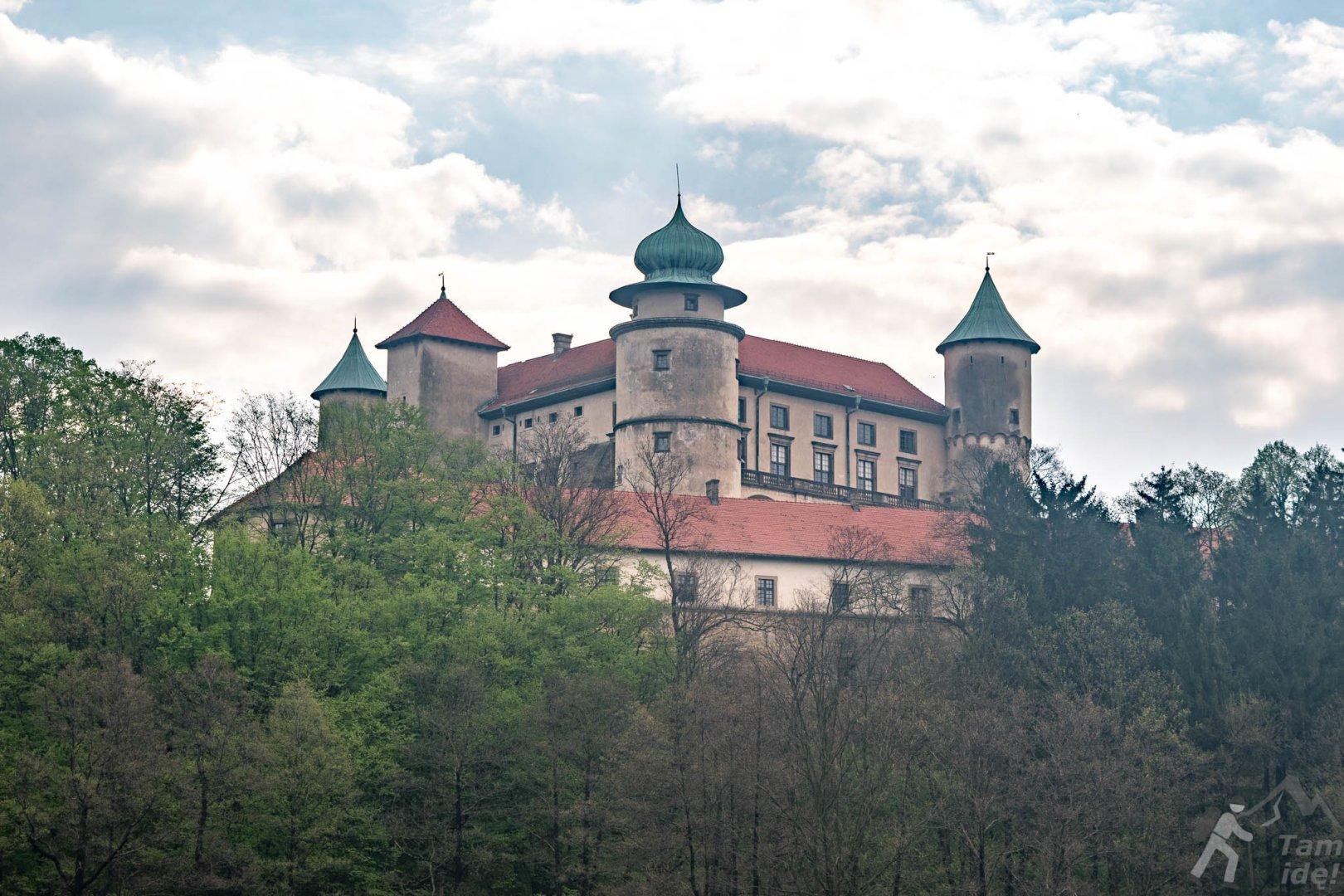 Zamek w Wiśniczu baszta królowej Bony