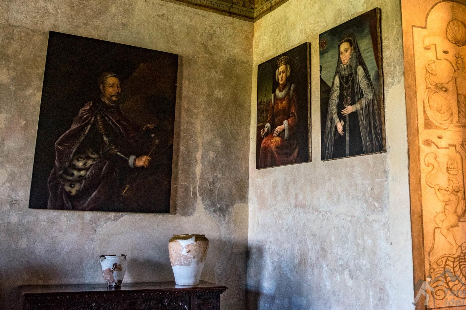 Obrazy na Zamku w Wiśniczu