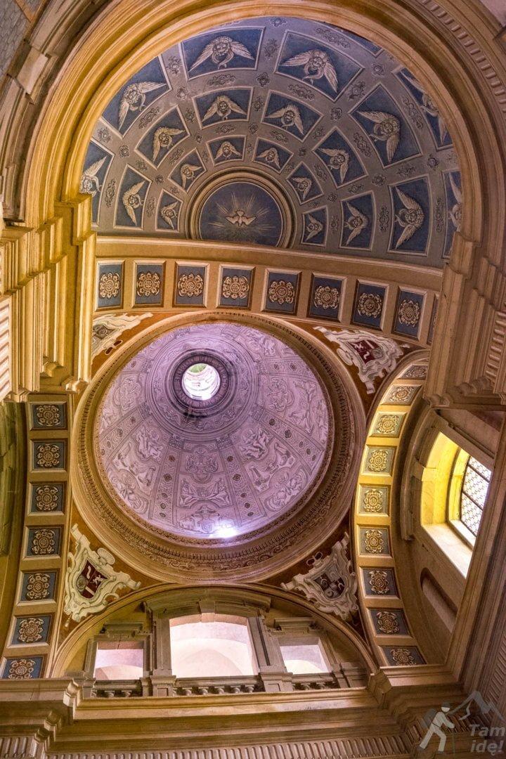 Sklepienie kaplicy zamkowej w Wiśniczu