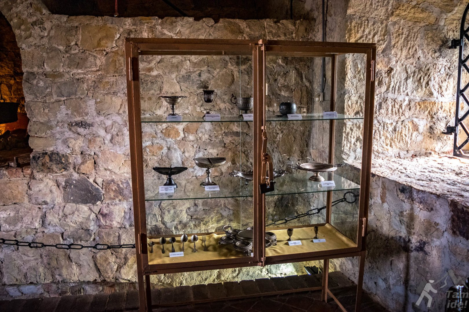 Wystawa na zamku w Dobczycach
