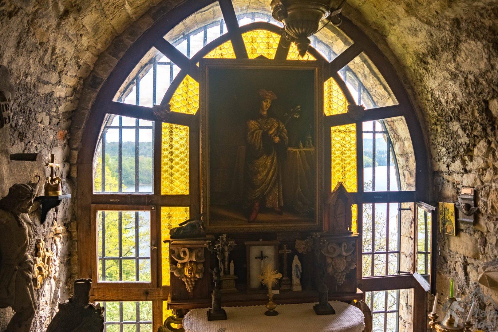 Zamek w Dobczycach - Kaplica