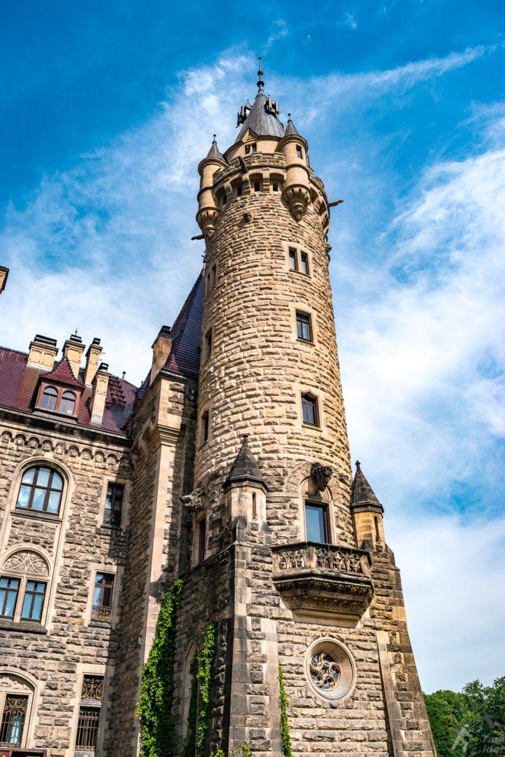 Zamek w Mosznej skrzydło wschodnie