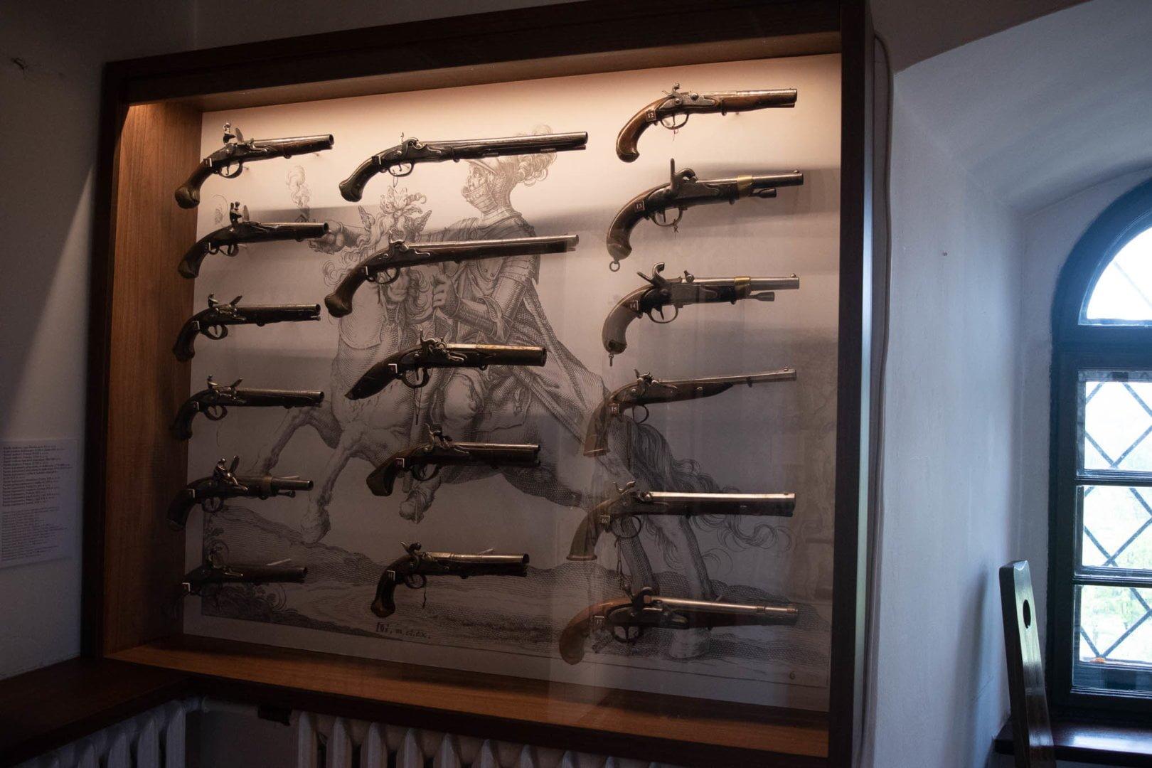 Wystawa broni na Zamku w Będzinie
