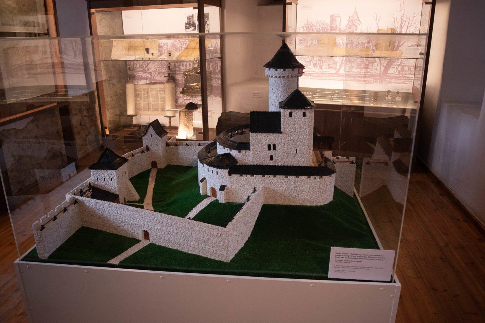 Makieta zamku w Będzinie