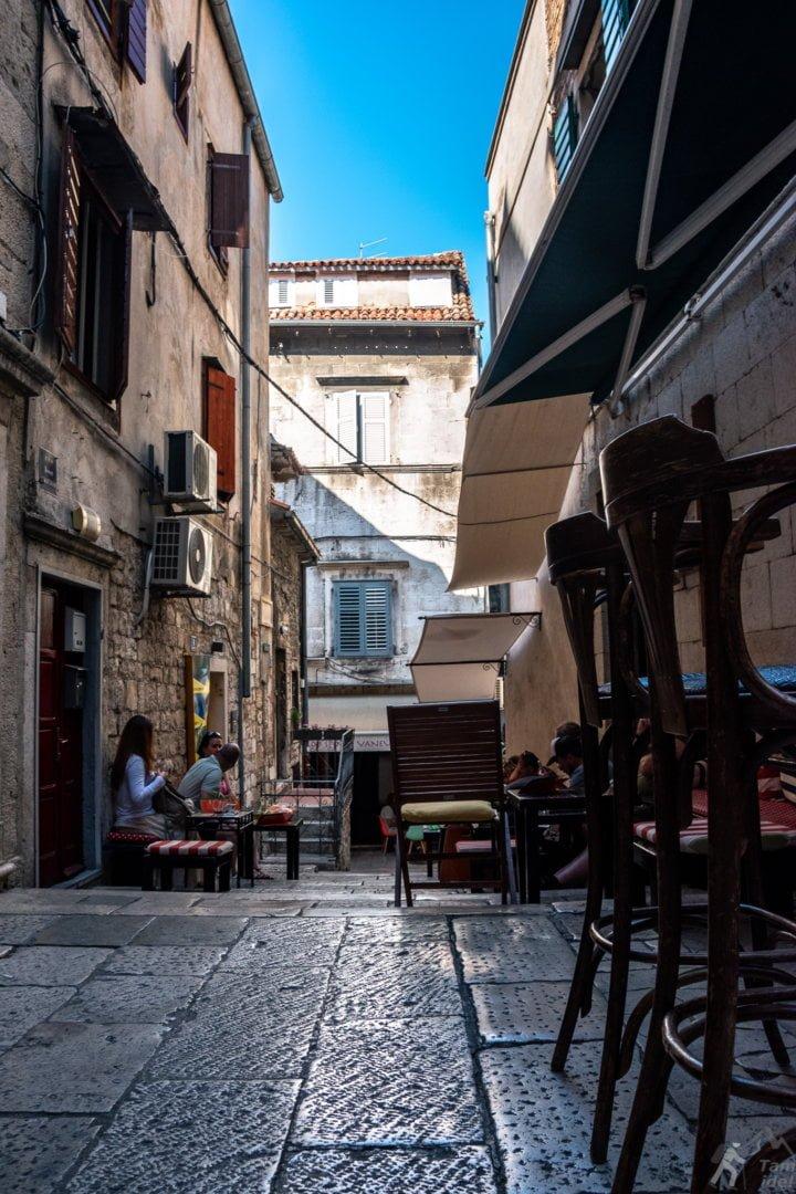 Split - uliczki