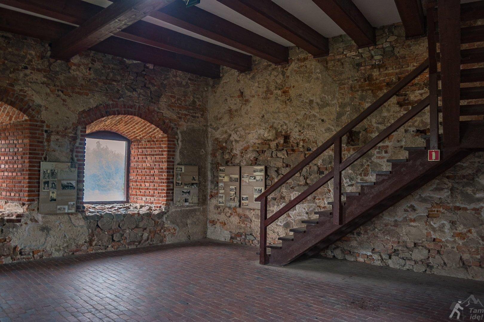 Zamek w Czorsztynie - komnaty