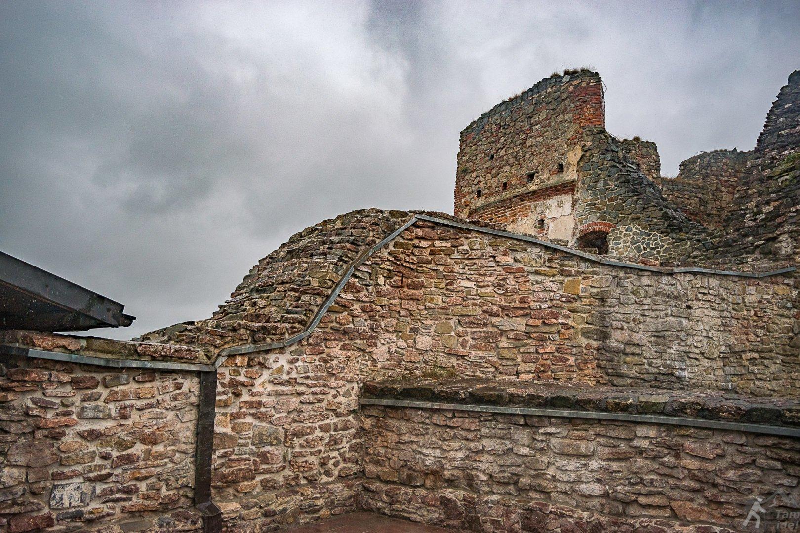 Ruiny w Czorsztynie