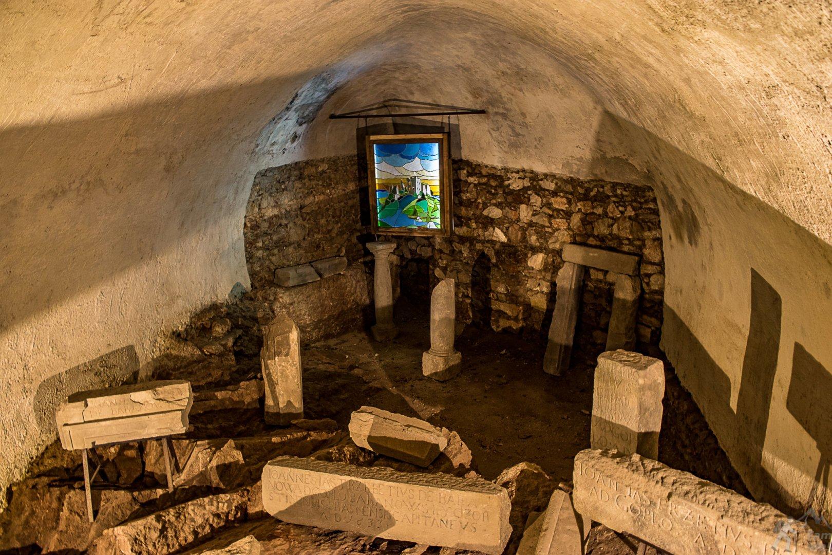 Lapidarium w Czorsztynie