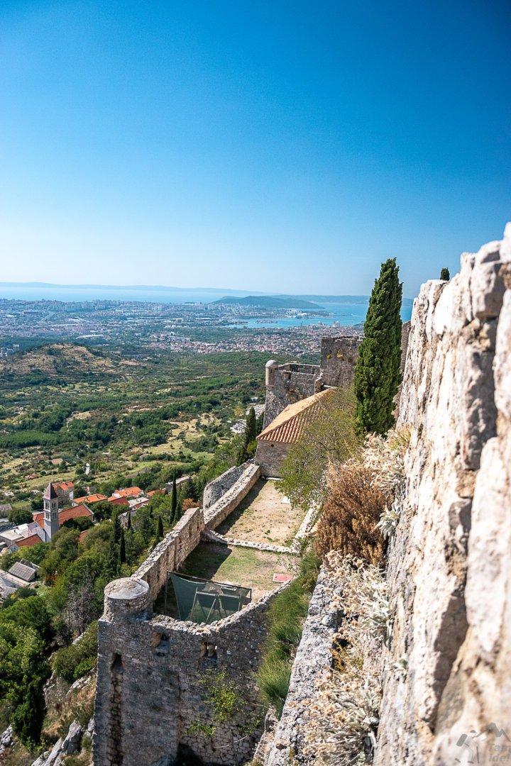 Twierdza Klis niedaleko Splitu