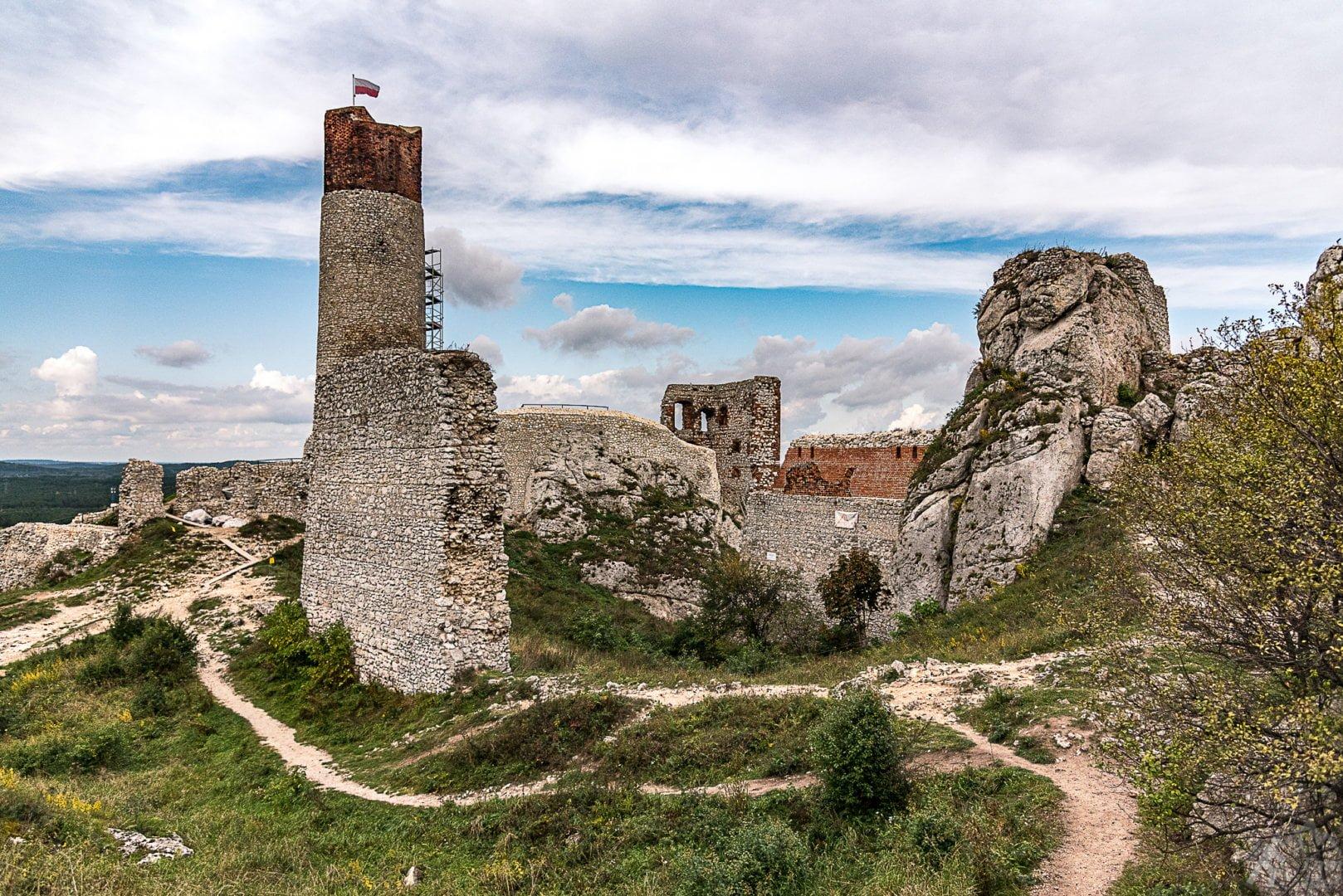 Zamek w Olsztynie koło Częstochowy