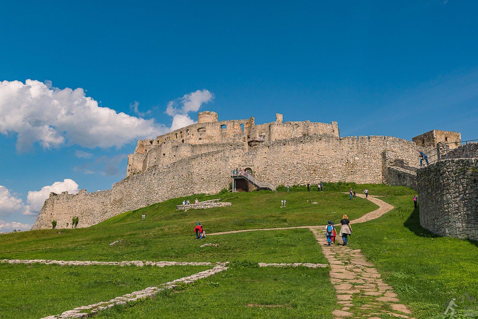 Zamek Spiski dziedzicniec dolny