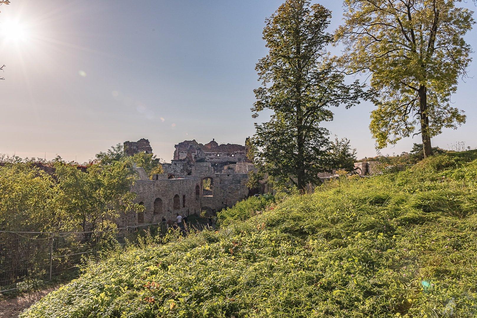 Wieża Grunwaldzka - zamek Tenczyn w Rudnie