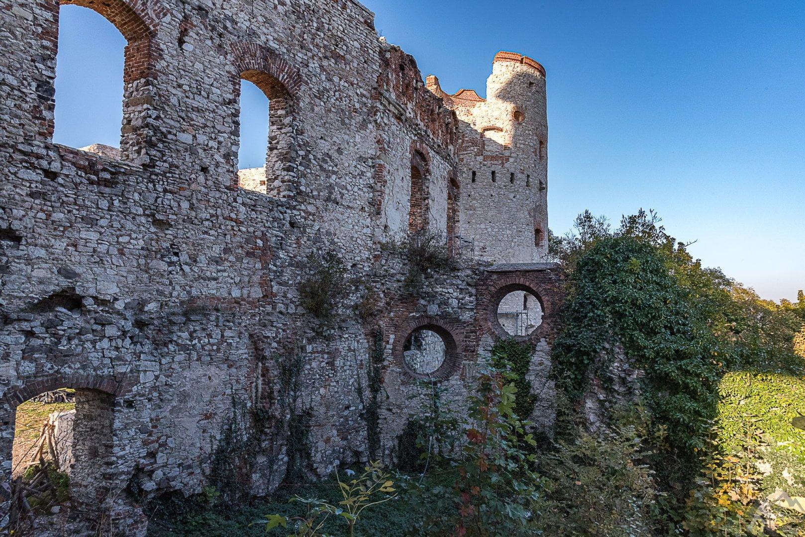 Kaplica Zamkowa i wieża z XV wieku